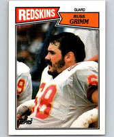 1987 Topps #73 Russ Grimm Redskins NFL Football