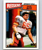 1987 Topps #75 Dave Butz Redskins NFL Football