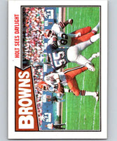 1987 Topps #79 Harry Holt Browns TL NFL Football