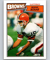 1987 Topps #80 Bernie Kosar Browns NFL Football