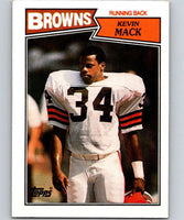 1987 Topps #82 Kevin Mack Browns NFL Football