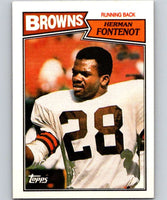 1987 Topps #83 Herman Fontenot Browns NFL Football