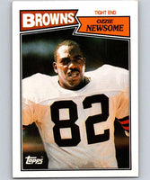 1987 Topps #85 Ozzie Newsome Browns NFL Football