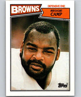 1987 Topps #88 Reggie Camp Browns NFL Football