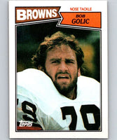 1987 Topps #89 Bob Golic Browns NFL Football
