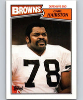 1987 Topps #90 Carl Hairston Browns NFL Football