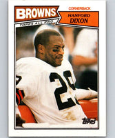 1987 Topps #93 Hanford Dixon Browns NFL Football