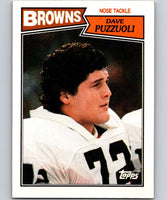 1987 Topps #95 Dave Puzzuoli Browns NFL Football