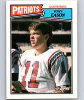 1987 Topps #97 Tony Eason Patriots NFL Football