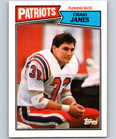 1987 Topps #98 Craig James Patriots NFL Football