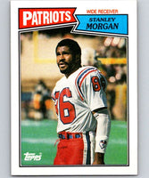 1987 Topps #101 Stanley Morgan Patriots NFL Football