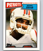 1987 Topps #102 Irving Fryar Patriots NFL Football