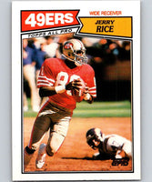 1987 Topps #115 Jerry Rice 49ers NFL Football