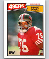 1987 Topps #120 Dwaine Board 49ers NFL Football