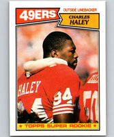 1987 Topps #125 Charles Haley RC Rookie 49ers NFL Football
