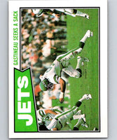 1987 Topps #126 Mark Gastineau NY Jets TL NFL Football