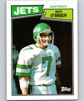 1987 Topps #127 Ken O'Brien NY Jets NFL Football