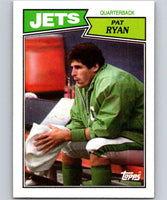 1987 Topps #128 Pat Ryan NY Jets NFL Football