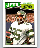 1987 Topps #132 Wesley Walker NY Jets NFL Football