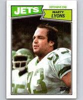 1987 Topps #137 Marty Lyons NY Jets NFL Football