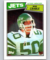 1987 Topps #138 Bob Crable NY Jets NFL Football