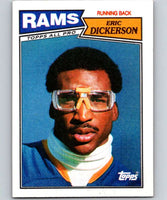1987 Topps #146 Eric Dickerson LA Rams NFL Football