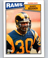1987 Topps #147 Barry Redden LA Rams NFL Football