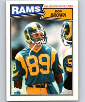 1987 Topps #148 Ron Brown LA Rams NFL Football
