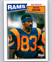 1987 Topps #149 Kevin House LA Rams NFL Football