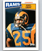 1987 Topps #157 Jerry Gray RC Rookie LA Rams NFL Football