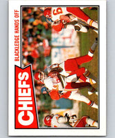 1987 Topps #160 Todd Blackledge Chiefs TL NFL Football
