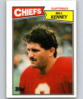 1987 Topps #161 Bill Kenney Chiefs NFL Football