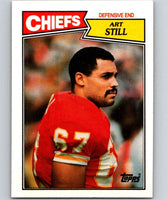 1987 Topps #168 Art Still Chiefs NFL Football