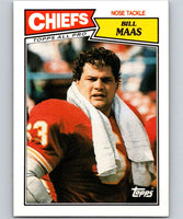 1987 Topps #169 Bill Maas Chiefs NFL Football