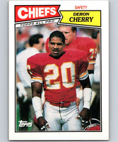 1987 Topps #171 Deron Cherry Chiefs NFL Football