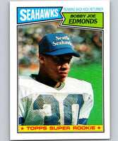 1987 Topps #176 Bobby Joe Edmonds RC Rookie Seahawks NFL Football