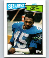 1987 Topps #183 Kenny Easley Seahawks NFL Football