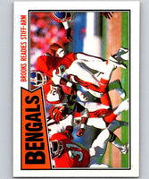 1987 Topps #184 James Brooks Bengals TL NFL Football