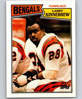 1987 Topps #187 Larry Kinnebrew Bengals NFL Football
