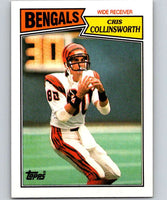 1987 Topps #188 Cris Collinsworth Bengals NFL Football