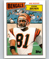 1987 Topps #189 Eddie Brown Bengals NFL Football