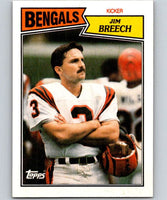 1987 Topps #191 Jim Breech Bengals NFL Football