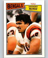 1987 Topps #192 Anthony Munoz Bengals NFL Football