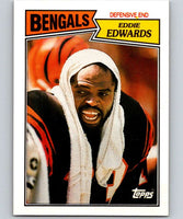 1987 Topps #194 Eddie Edwards Bengals NFL Football