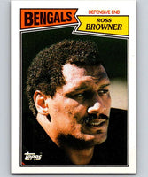 1987 Topps #195 Ross Browner Bengals NFL Football