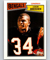 1987 Topps #197 Louis Breeden Bengals NFL Football