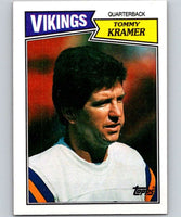 1987 Topps #199 Tommy Kramer Vikings NFL Football
