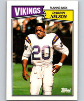 1987 Topps #200 Darrin Nelson Vikings NFL Football