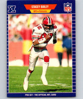 1989 Pro Set #1 Stacey Bailey Falcons NFL Football