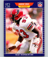 1989 Pro Set #2 Aundray Bruce RC Rookie Falcons NFL Football